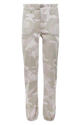 Женские джинсы PAIGE хаки цвета, арт. 6223G29-2765 | Фото 1