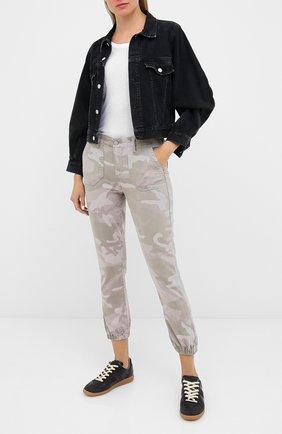 Женские джинсы PAIGE хаки цвета, арт. 6223G29-2765 | Фото 2