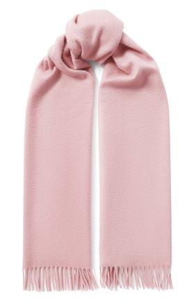 Мужские кашемировый шарф grande unita LORO PIANA розового цвета, арт. FAA1056 | Фото 1