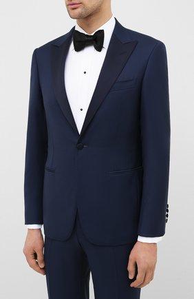 Мужской шерстяной смокинг CANALI синего цвета, арт. 13780/39/AS10315 | Фото 2