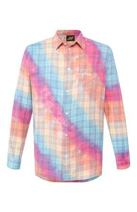Мужская хлопковая рубашка loewe x paula's ibiza LOEWE разноцветного цвета, арт. H616337X71 | Фото 1