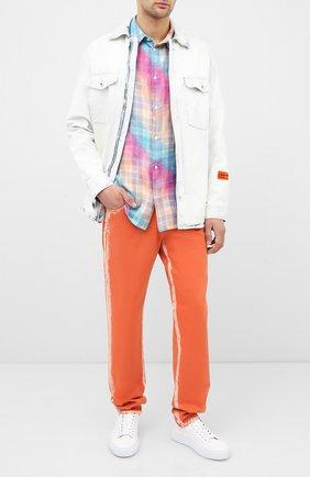 Мужская хлопковая рубашка loewe x paula's ibiza LOEWE разноцветного цвета, арт. H616337X71 | Фото 2