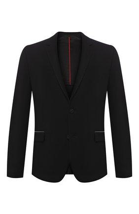 Мужской пиджак HUGO черного цвета, арт. 50430501 | Фото 1