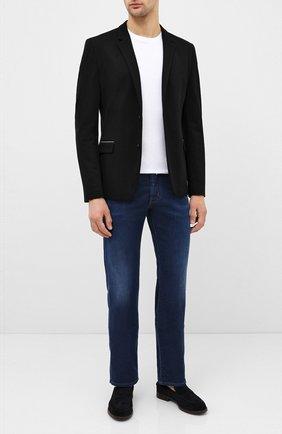 Мужской пиджак HUGO черного цвета, арт. 50430501 | Фото 2