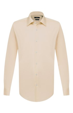 Мужская сорочка BOSS бежевого цвета, арт. 50432597 | Фото 1