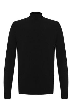 Мужской шерстяной свитер BOTTEGA VENETA черного цвета, арт. 628353/VKXJ0 | Фото 1