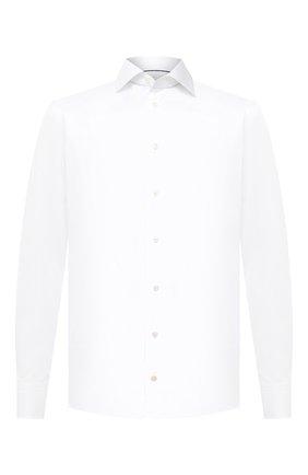 Мужская хлопковая сорочка ETON белого цвета, арт. 1000 01862 | Фото 1