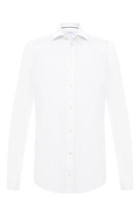 Мужская хлопковая сорочка ETON белого цвета, арт. 1000 01864 | Фото 1