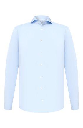 Мужская хлопковая сорочка ETON голубого цвета, арт. 2567 73511 | Фото 1