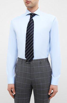 Мужская хлопковая сорочка ETON голубого цвета, арт. 2567 73511 | Фото 4