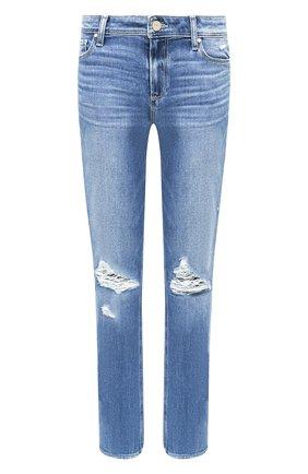 Женские джинсы PAIGE синего цвета, арт. 3505F72-1743 | Фото 1