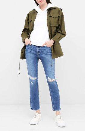 Женские джинсы PAIGE синего цвета, арт. 3505F72-1743 | Фото 2