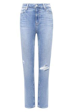 Женские джинсы PAIGE голубого цвета, арт. 5673B61-1315 | Фото 1