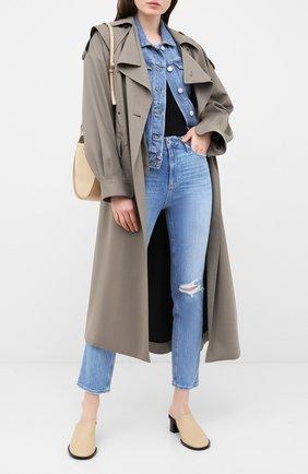 Женские джинсы PAIGE голубого цвета, арт. 5673B61-1315 | Фото 2