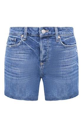 Женские джинсовые шорты PAIGE синего цвета, арт. 6041635-2194 | Фото 1