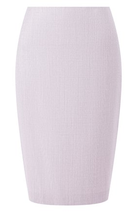 Женская юбка BOSS сиреневого цвета, арт. 50430497 | Фото 1