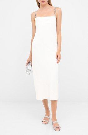 Женское платье из вискозы DOROTHEE SCHUMACHER кремвого цвета, арт. 848305/GLAM0R0US STATEME | Фото 2