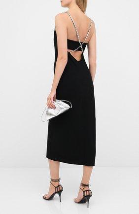 Женское платье из вискозы DOROTHEE SCHUMACHER черного цвета, арт. 848305/GLAM0R0US STATEME | Фото 2