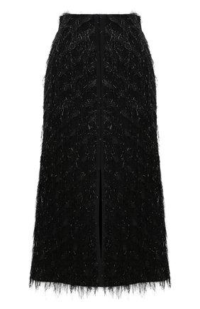 Женская юбка DOROTHEE SCHUMACHER черного цвета, арт. 842505/DAZZLING LIGHTS | Фото 1