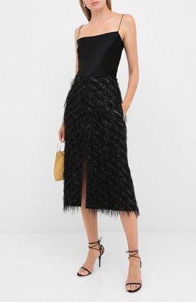 Женская юбка DOROTHEE SCHUMACHER черного цвета, арт. 842505/DAZZLING LIGHTS | Фото 2