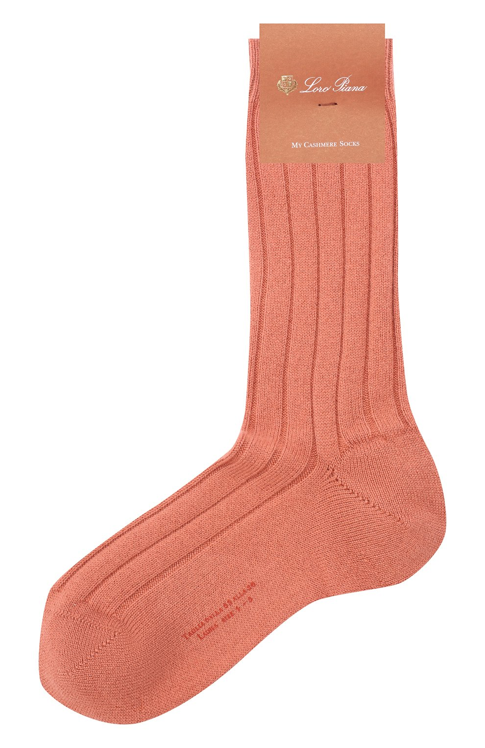 Женские кашемировые носки LORO PIANA розового цвета, арт. FAF8553 | Фото 1