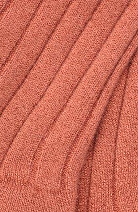 Женские кашемировые носки LORO PIANA розового цвета, арт. FAF8553 | Фото 2