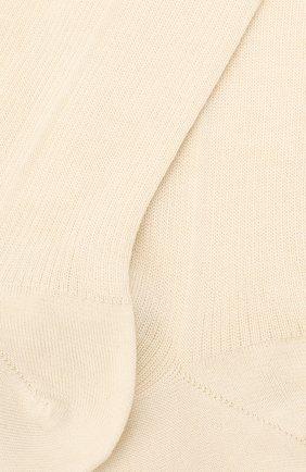 Женские кашемировые чулки LORO PIANA светло-бежевого цвета, арт. FAL3106 | Фото 2