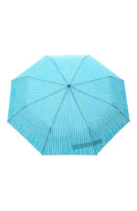 Женский складной зонт DOPPLER бирюзового цвета, арт. 7441465 GL01 | Фото 1