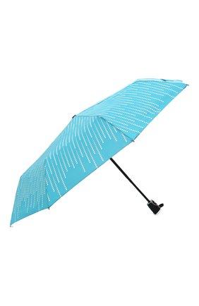 Женский складной зонт DOPPLER бирюзового цвета, арт. 7441465 GL01 | Фото 2