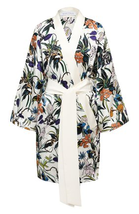 Женский шелковый халат OLIVIA VON HALLE разноцветного цвета, арт. PS2041 | Фото 1