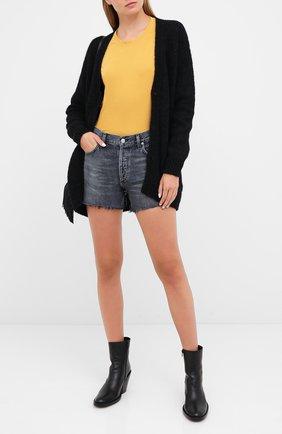 Женские джинсовые шорты CITIZENS OF HUMANITY серого цвета, арт. 996-1193 | Фото 2