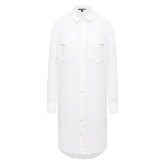 Льняное платье James Perse