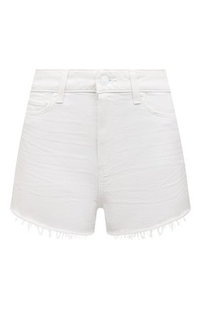 Женские джинсовые шорты PAIGE белого цвета, арт. 2800208-5959 | Фото 1