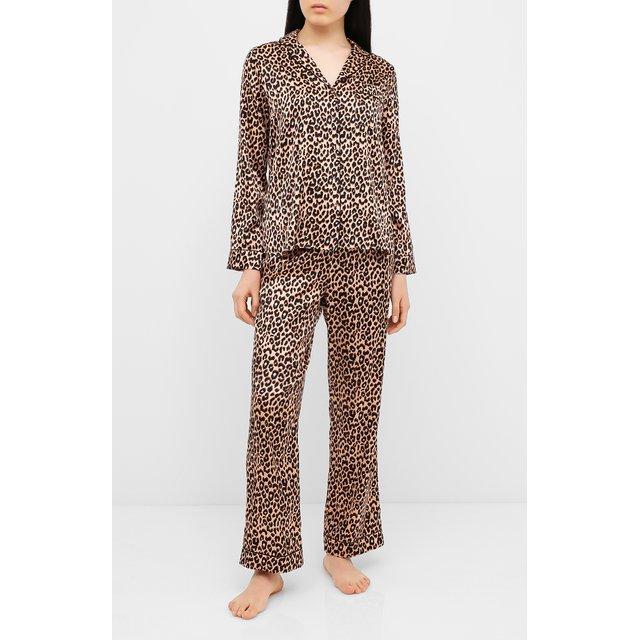 Шелковая пижама YOLKE