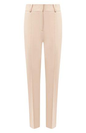 Женские хлопковые брюки LORO PIANA светло-бежевого цвета, арт. FAL3050 | Фото 1