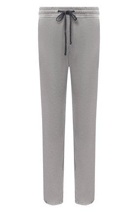 Мужской хлопковые брюки JAMES PERSE светло-серого цвета, арт. MXA1161 | Фото 1