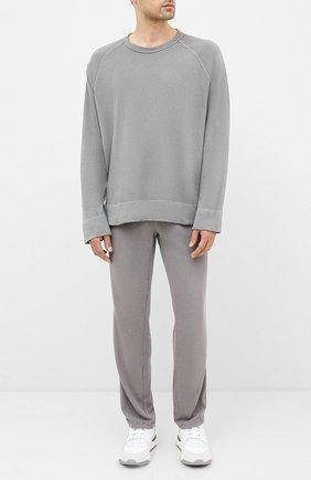 Мужской хлопковые брюки JAMES PERSE светло-серого цвета, арт. MXA1161 | Фото 2