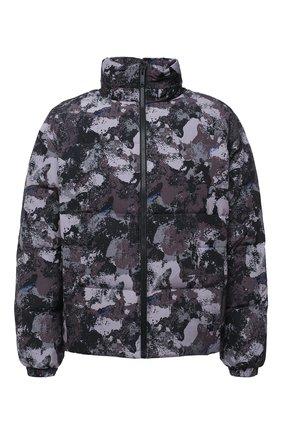 Мужская пуховая куртка MARCELO BURLON серого цвета, арт. CMED028E20FAB003 | Фото 1