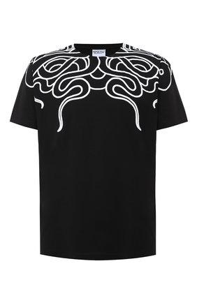 Мужская хлопковая футболка MARCELO BURLON черного цвета, арт. CMAA018E20JER007 | Фото 1