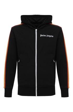 Мужской толстовка PALM ANGELS черного цвета, арт. PMBD025E20FAB0041084 | Фото 1