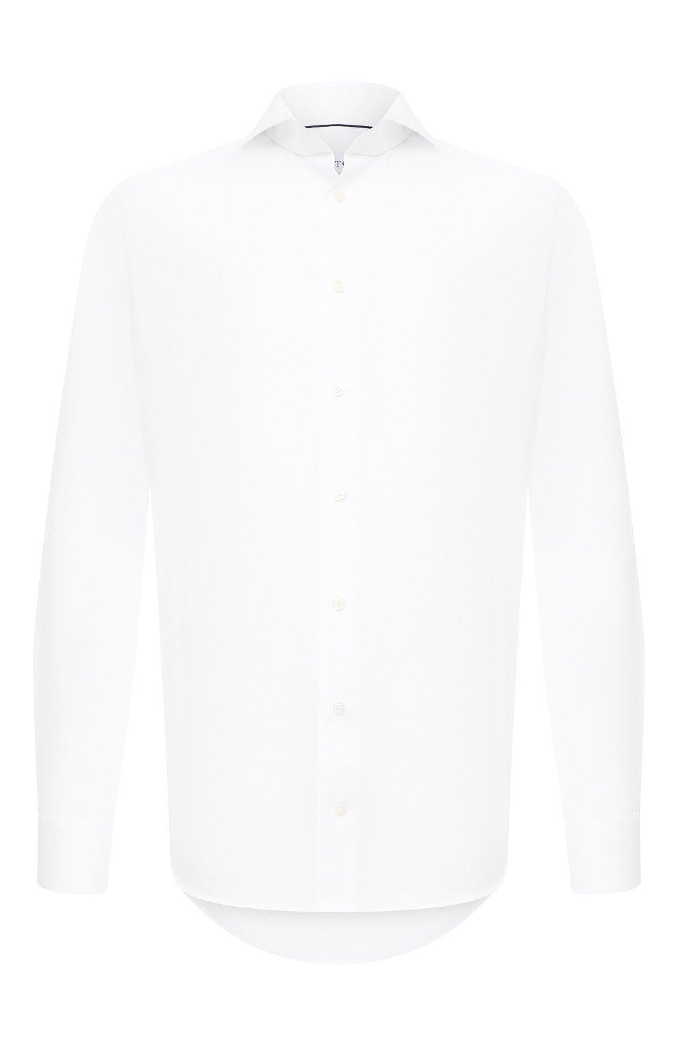 Мужская хлопковая сорочка ETON белого цвета, арт. 2567 73511 | Фото 1