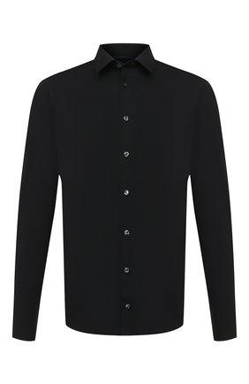 Мужская хлопковая сорочка ETON черного цвета, арт. 2567 88811 | Фото 1