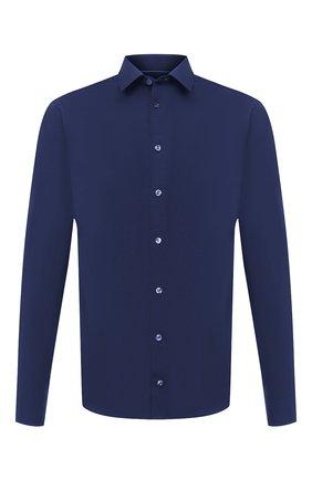 Мужская хлопковая сорочка ETON синего цвета, арт. 2567 88811 | Фото 1