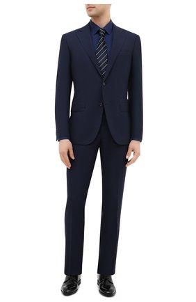 Мужская хлопковая сорочка ETON синего цвета, арт. 2567 88811 | Фото 2