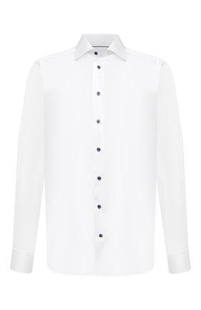Мужская хлопковая сорочка ETON белого цвета, арт. 3000 00452 | Фото 1