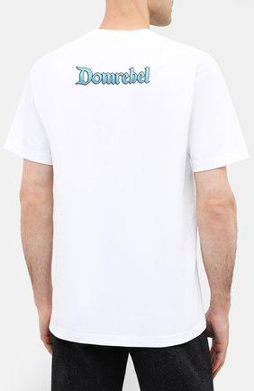 Мужская хлопковая футболка DOM REBEL белого цвета, арт. SKATE/B0X T-SHIRT | Фото 4