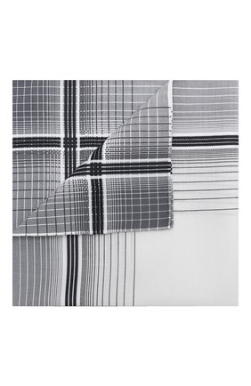 Мужской хлопковый платок SIMONNOT-GODARD темно-серого цвета, арт. 0PERA | Фото 1