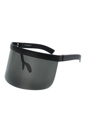 Женские солнцезащитные очки MYKITA черного цвета, арт. DAISUKE/PITCHBLACK/DARKGREY | Фото 1 (Тип очков: С/з)