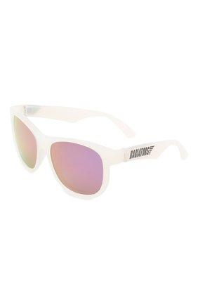 Детского солнцезащитные очки BABIATORS прозрачного цвета, арт. BLU-012 | Фото 1