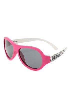 Детского солнцезащитные очки BABIATORS розового цвета, арт. BAB-094 | Фото 1